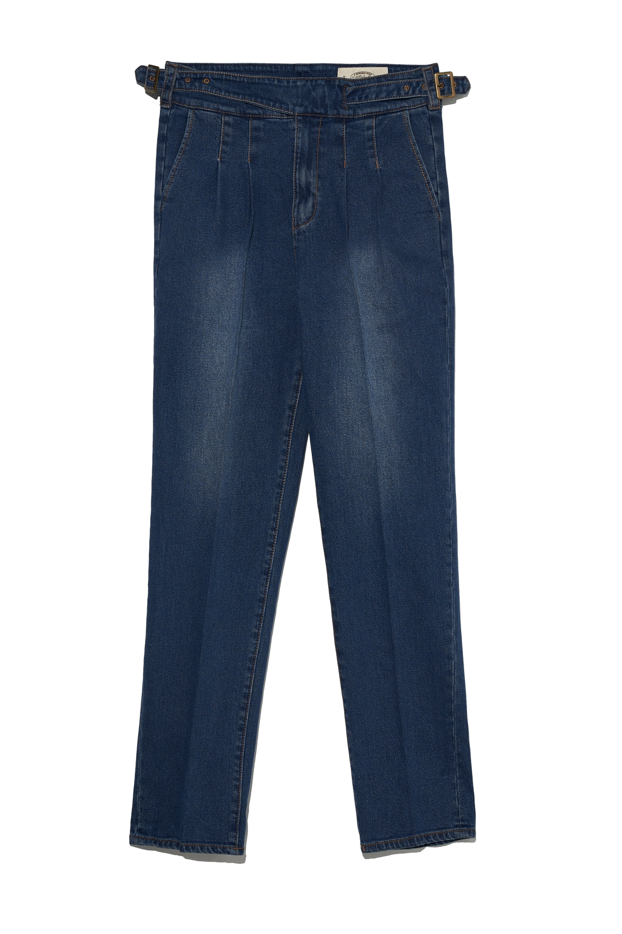 MID BLUE DENIM 003 ( GURKHA TYPE)Amfeast(암피스트)