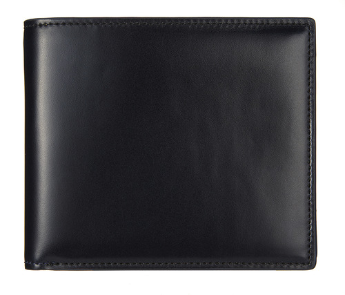 cordovan middle wallet navy