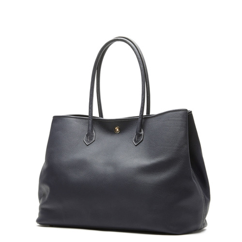 NAVY Tote bag - ADAM'S PEACH