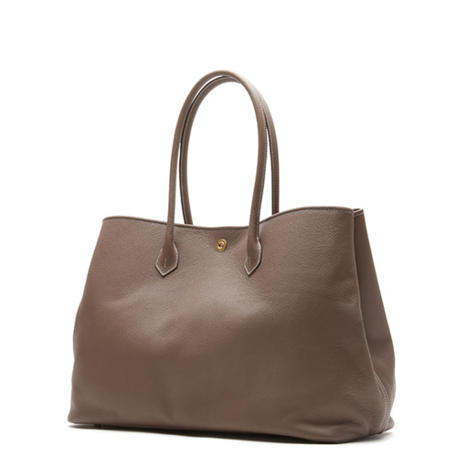 GREY BROWN Tote bag - ADAM'S PEACH