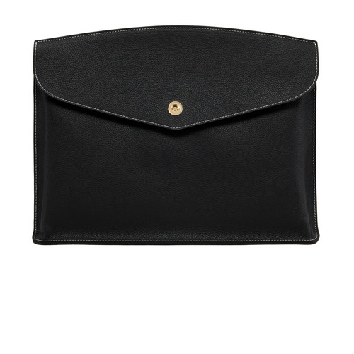 BLACK Clutch bag - ADAM'S PEACH