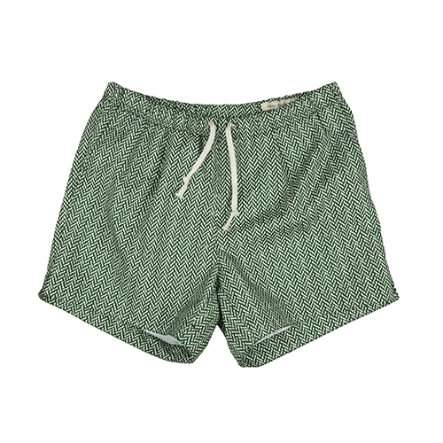 SWIM PANTS - GREEN BONE