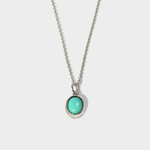Turquoise Charm Necklace- BRACELET of KEIO -
