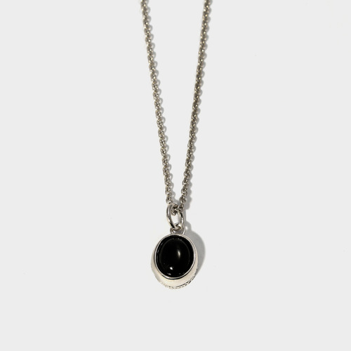 Onyx Charm Necklace- BRACELET of KEIO -