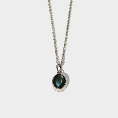 Labradorite Charm Necklace- BRACELET of KEIO -