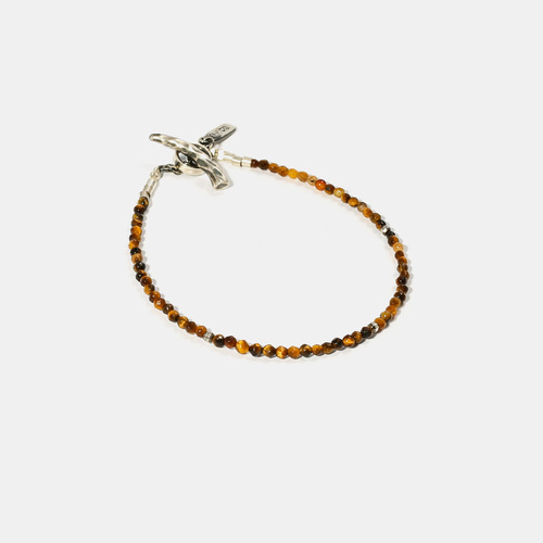 Tigers Eye Beads Bracelet- BRACELET of KEIO -
