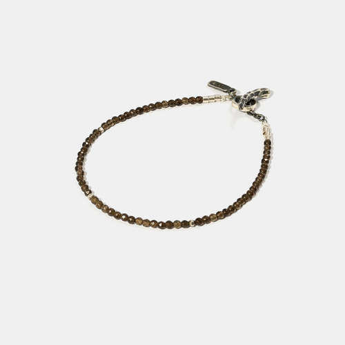 Smoky Quartz Beads Bracelet- BRACELET of KEIO -