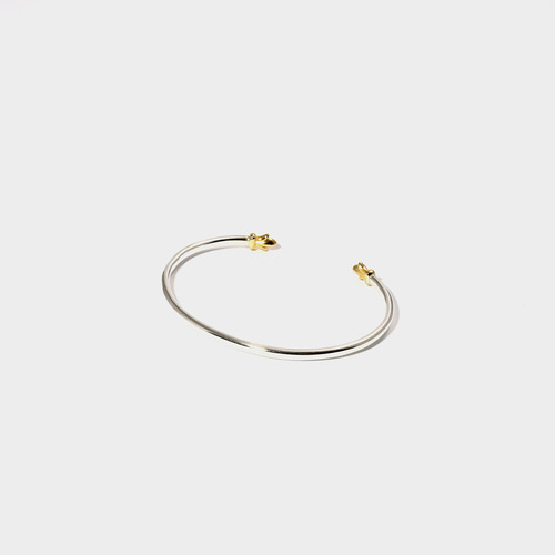 Gold Trident Bangle- BRACELET of KEIO -