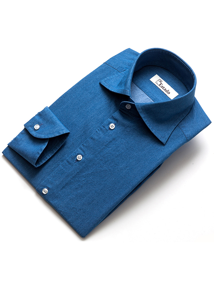 Cotton shirts - Denim(chambray)