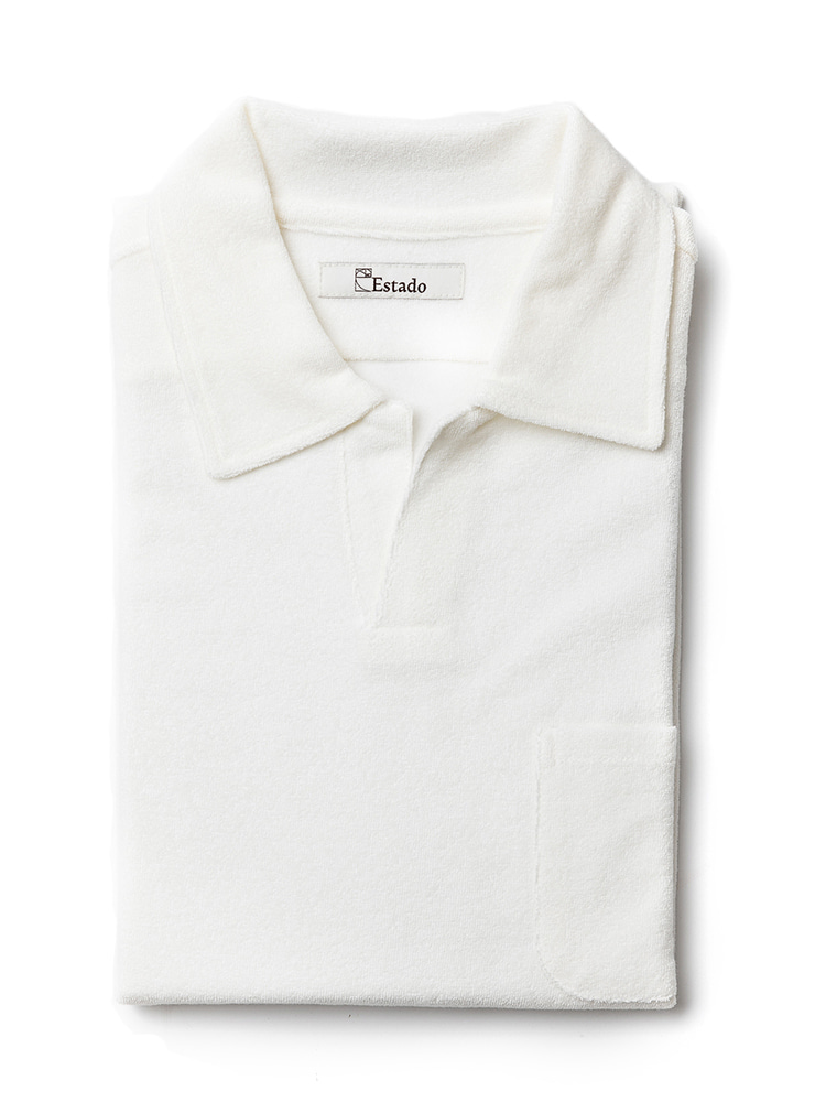 Pique Shirts - TERRY COTTON (White)