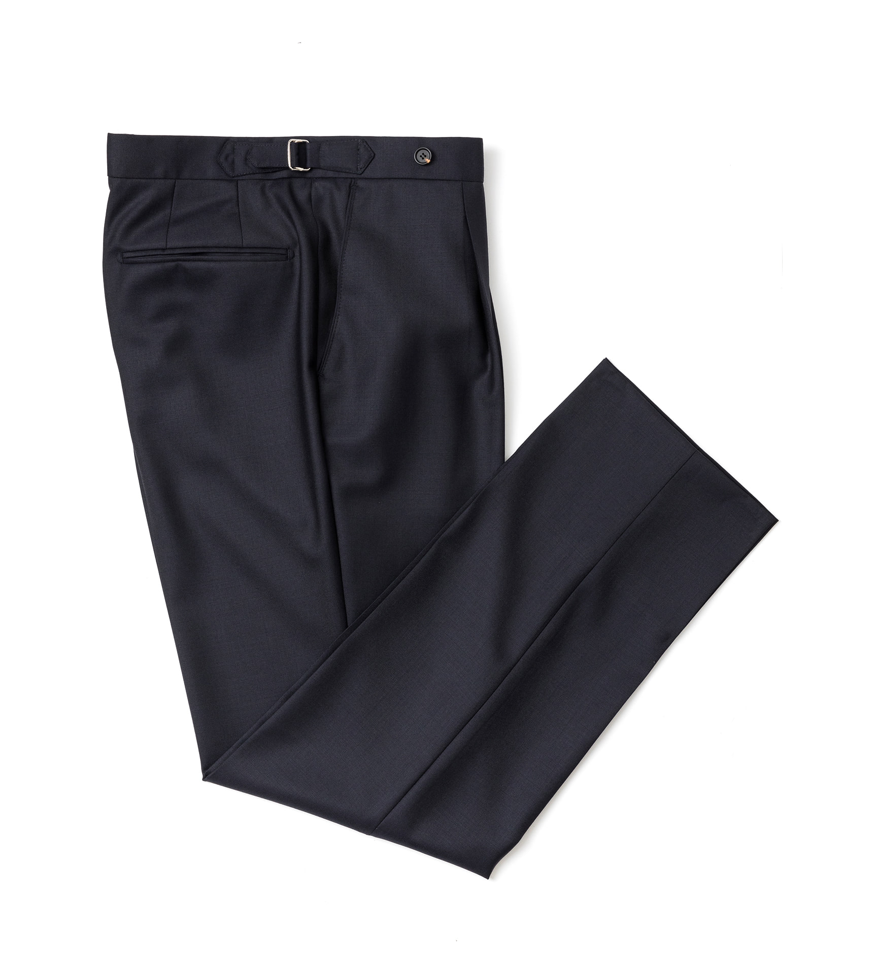 Barrington Wool pants - Navy (one pleats)ESTADO(에스타도)