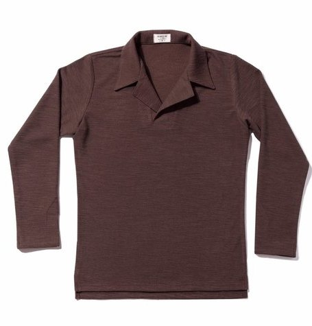 Cotton Polo shirts / Brown