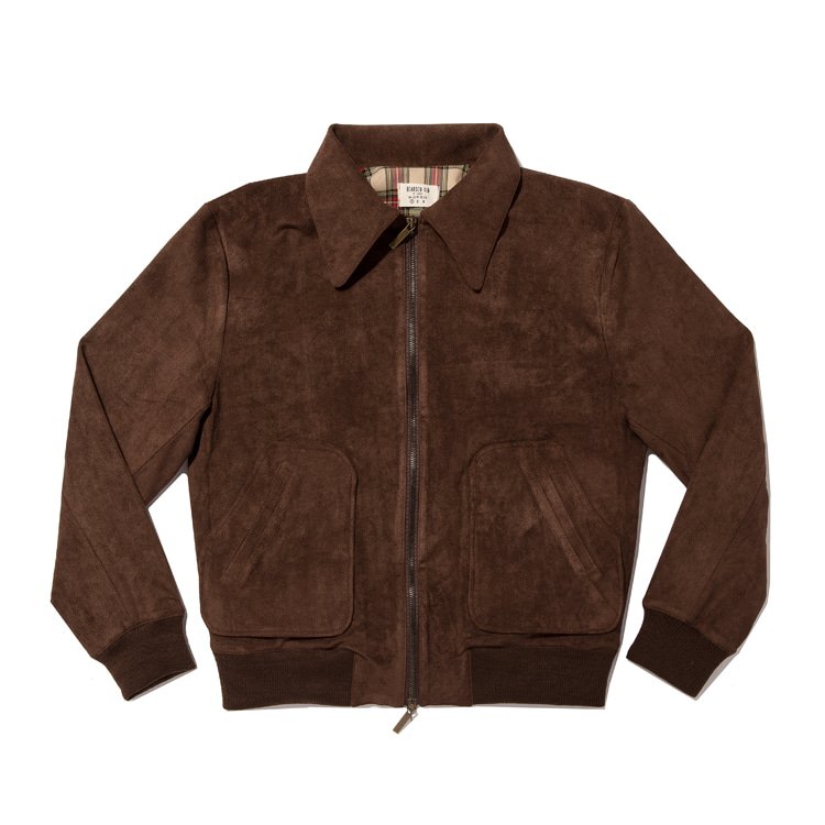 A2 Jacket / Suede Brown