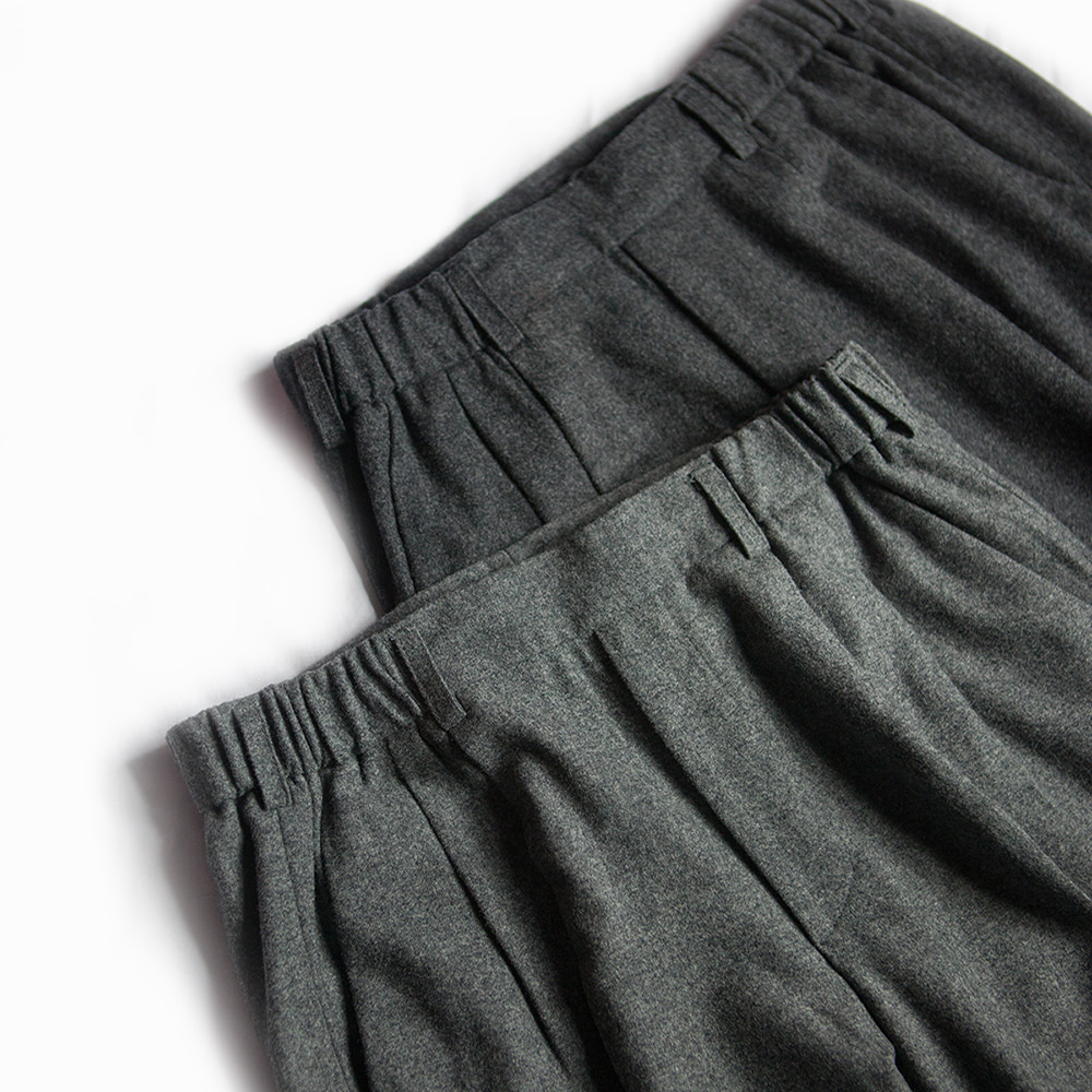 Leichtfried Loden Gray Flannel a Comfy PantsChad prom(채드프롬)
