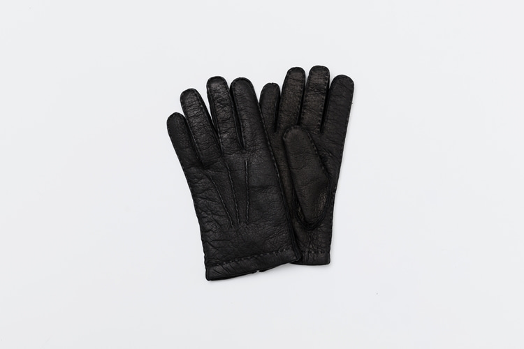 omega gloves Peccary Black (남성용)