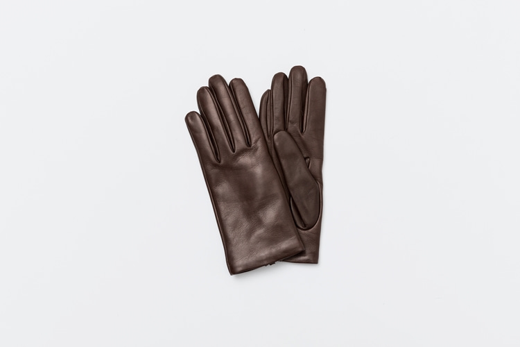 omega gloves Woman Nappa Darkbrown (여성용)오메가글러브