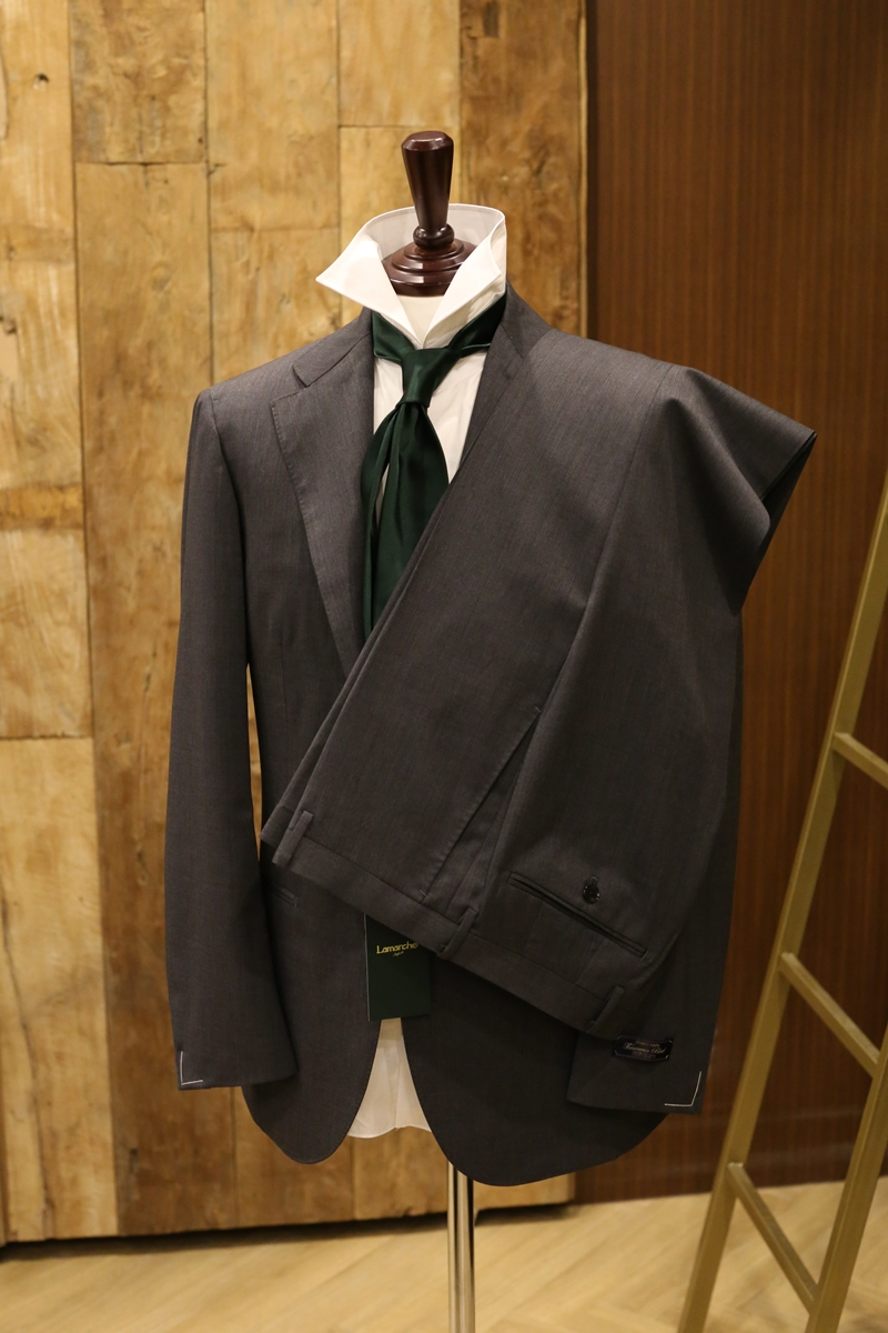 Lamarche Napoli medium grey SUIT made by RingJacket (라마르쉐나폴리by링자켓)