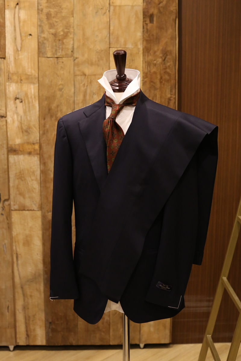 Lamarche Napoli navy SUIT made by RingJacket (라마르쉐나폴리by링자켓)