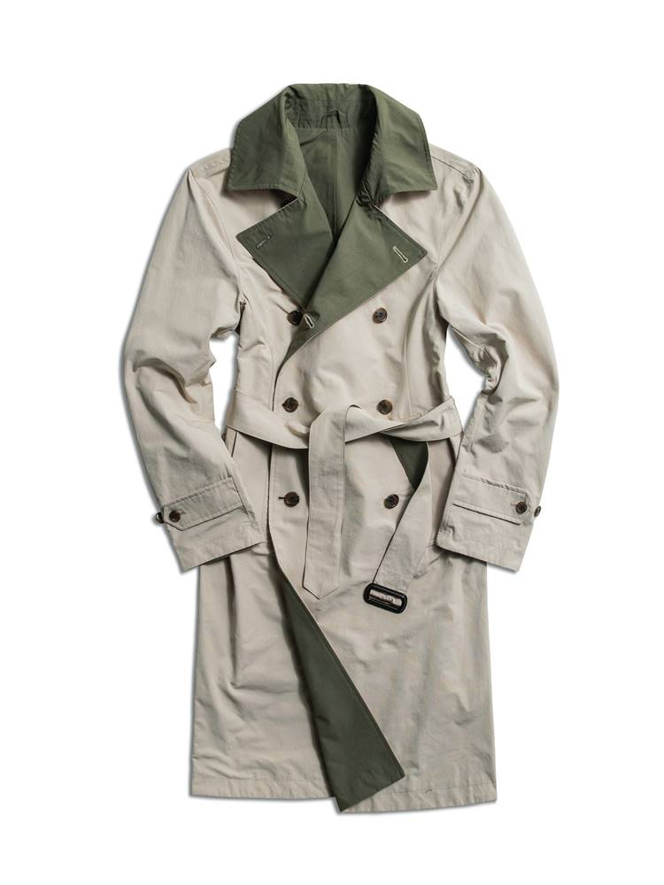 reversible trenchcoat beigeAMFEAST(암피스트)
