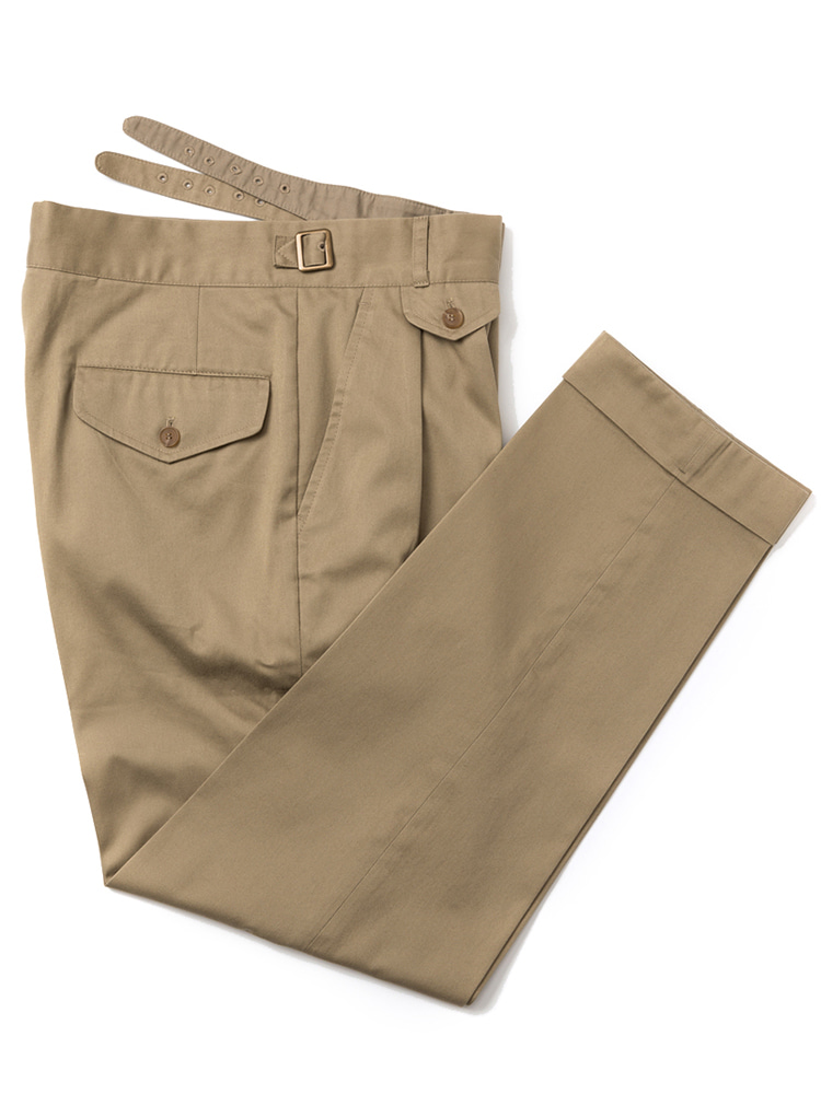 Gurkha pants (Khaki)ESTADO(에스타도)