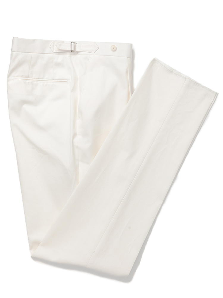 Dugdale cotton pants - whiteestado(에스타도)