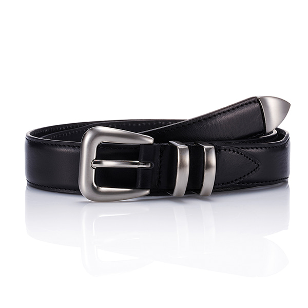 110 Leather Belt - BlackSAVAGE(세비지)