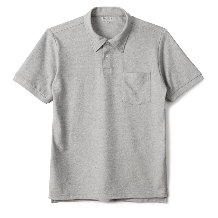 GTB Cotton Pique Polo Shirt Half - GreyBANTS(반츠)