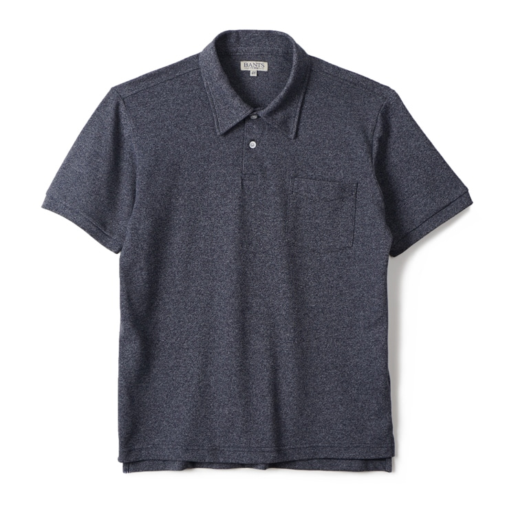 GTB Cotton Pique Polo Shirt Half - NavyBANTS(반츠)