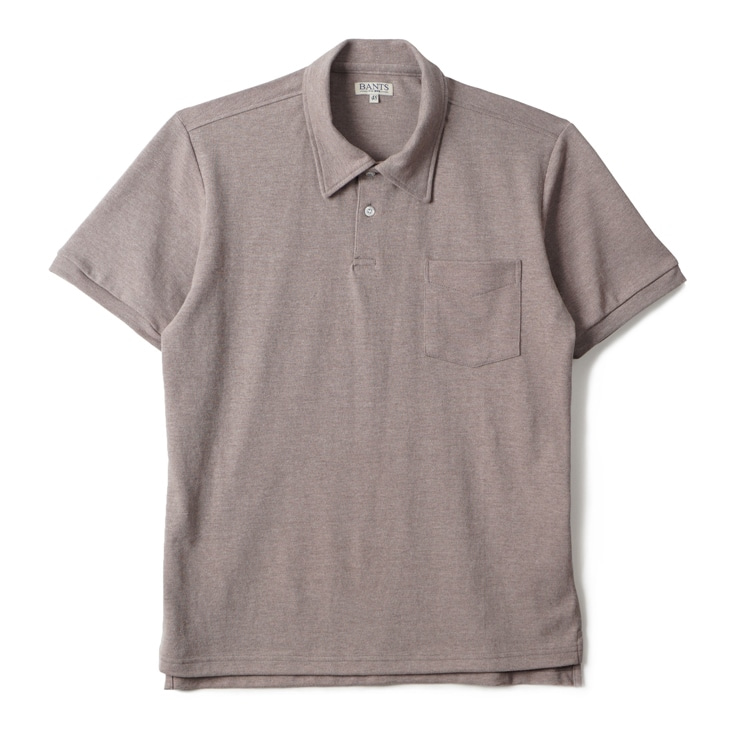 GTB Cotton Pique Polo Shirt Half - L.BrownBANTS(반츠)