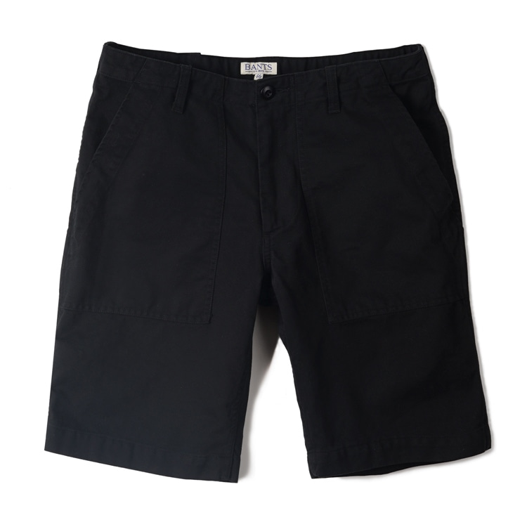 GTB Cotton Fatigue Shorts - BlackBANTS(반츠)