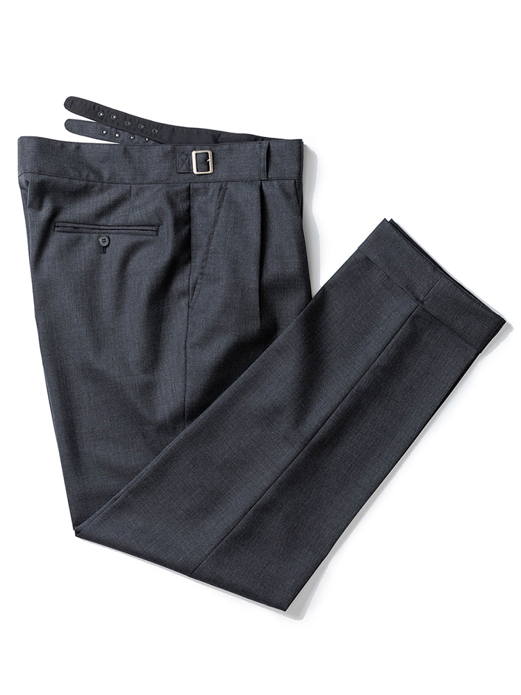 Gurkha pants - Barrington Wool (Grey)  estado(에스타도)