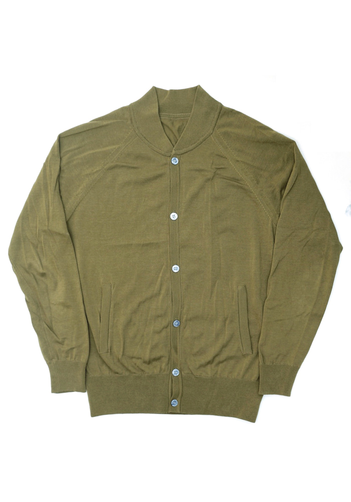 18SS Summer Cotton Bomber_OliveFRUI(프루이)