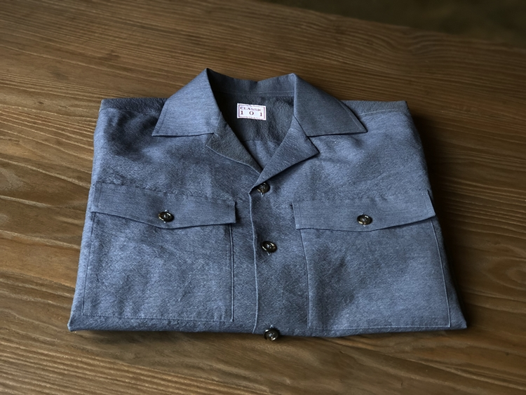 SHIRTS JACKET BLUE GRAYCLASSIC 101(클래식101)