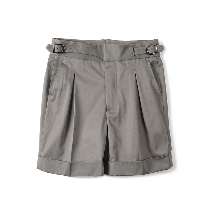 GTB Cotton Gurkha Shorts - GreyBANTS(반츠)