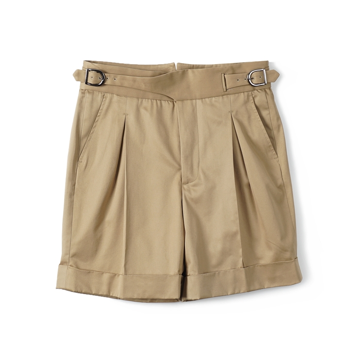 GTB Cotton Gurkha Shorts - KhakiBANTS(반츠)