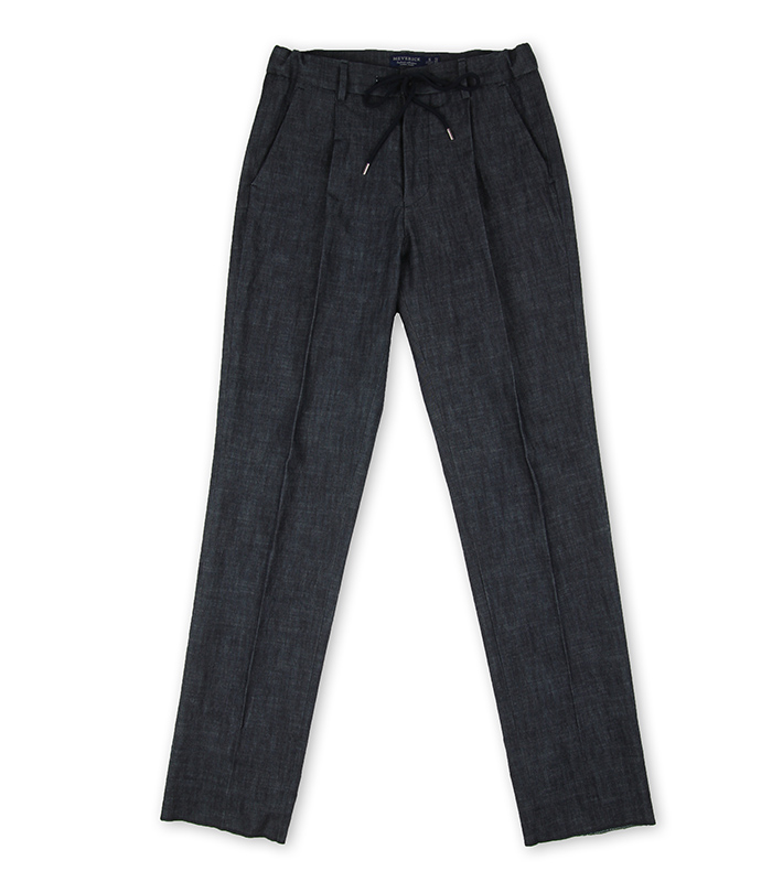Denim Banding Pants - NAVYMEVERICK(메버릭)