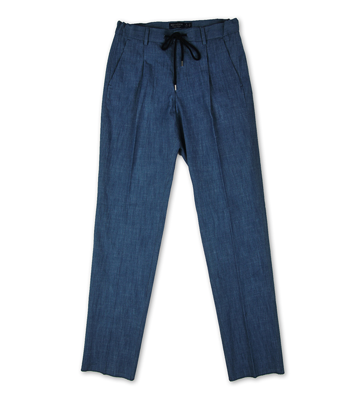 Denim Banding Pants - the MiddleMEVERICK(메버릭)