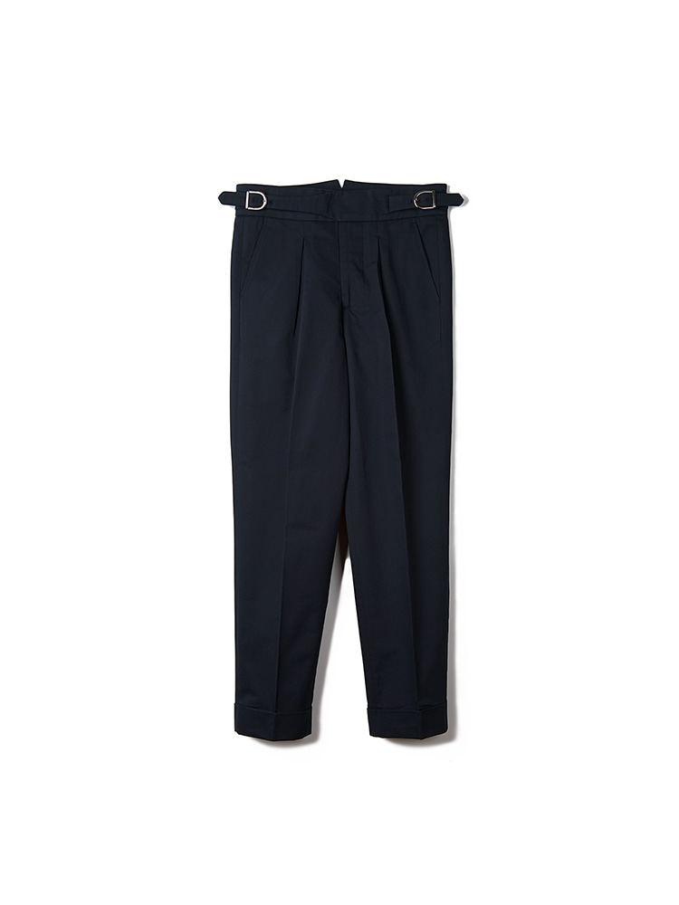 BTS Cotton Gurkha Pants - NavyBANTS(반츠)