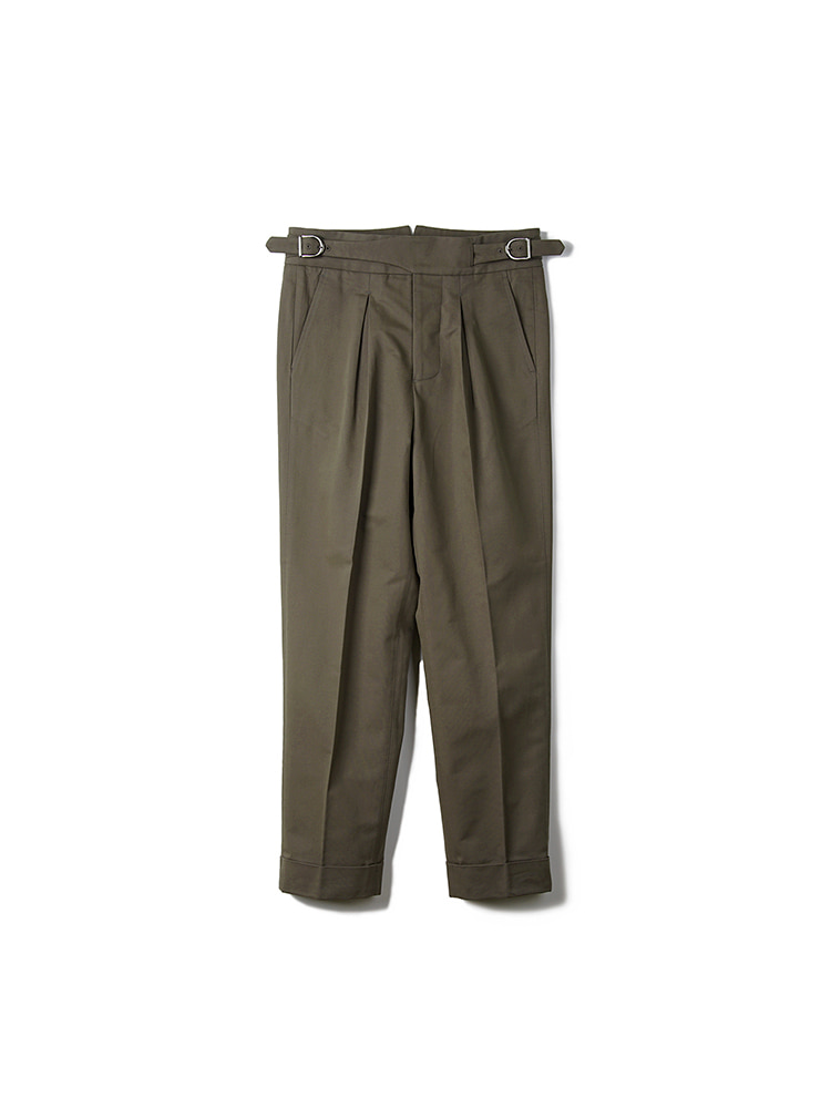 BTS Cotton Gurkha Pants - Olive DrabBANTS(반츠)