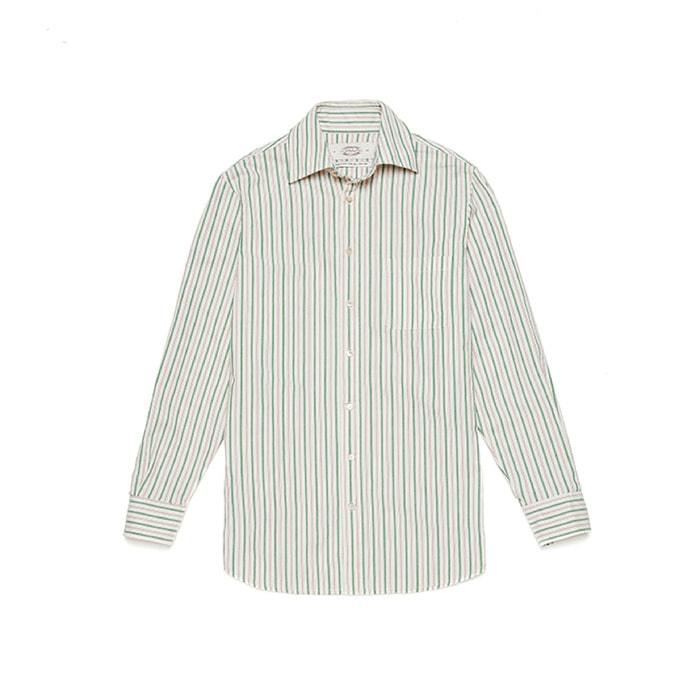Alternate Stripe Shirts - Green RedAMFEAST(암피스트)