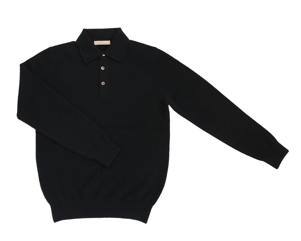 Soft Cashmere Collar_BlackIOLO(이올로)