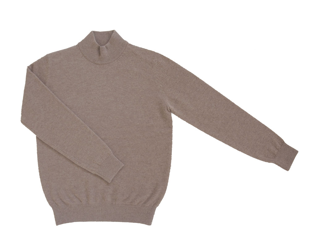 Soft Cashmere mock neck_BrownIOLO(이올로)