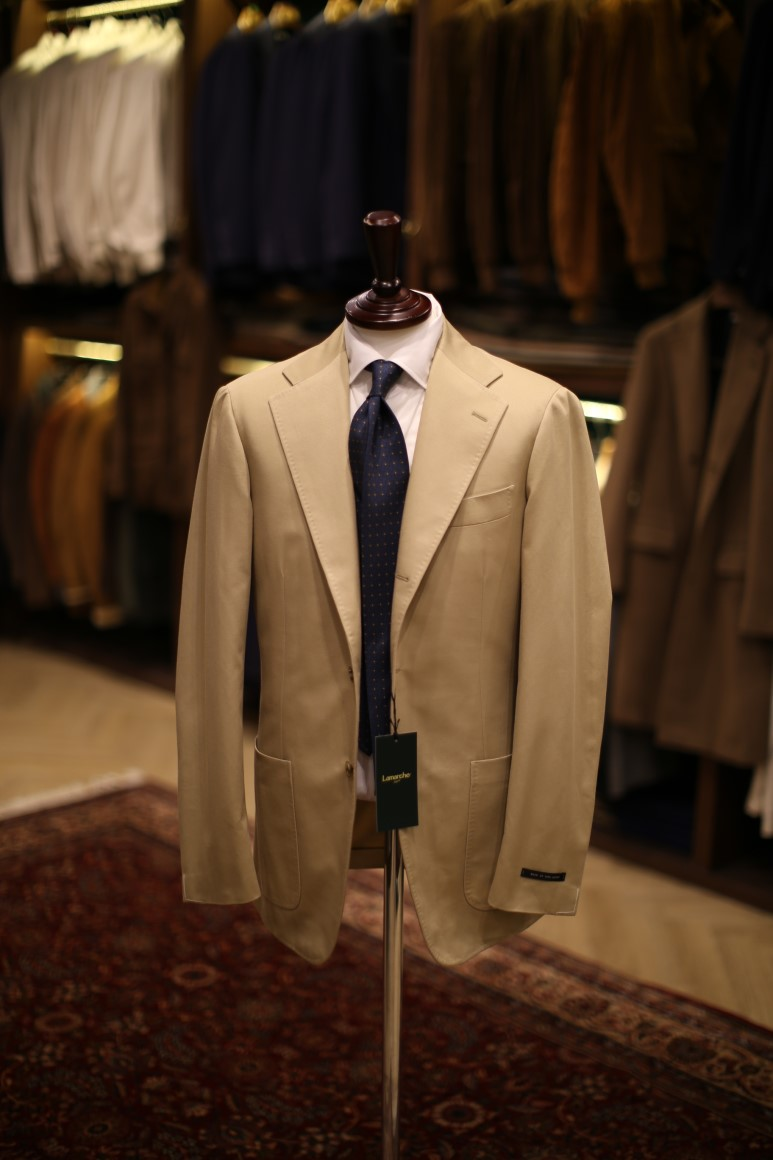 LMJ-05 Cotton Beige SUITLamarche Napoli made by RingJacket (라마르쉐나폴리by링자켓)