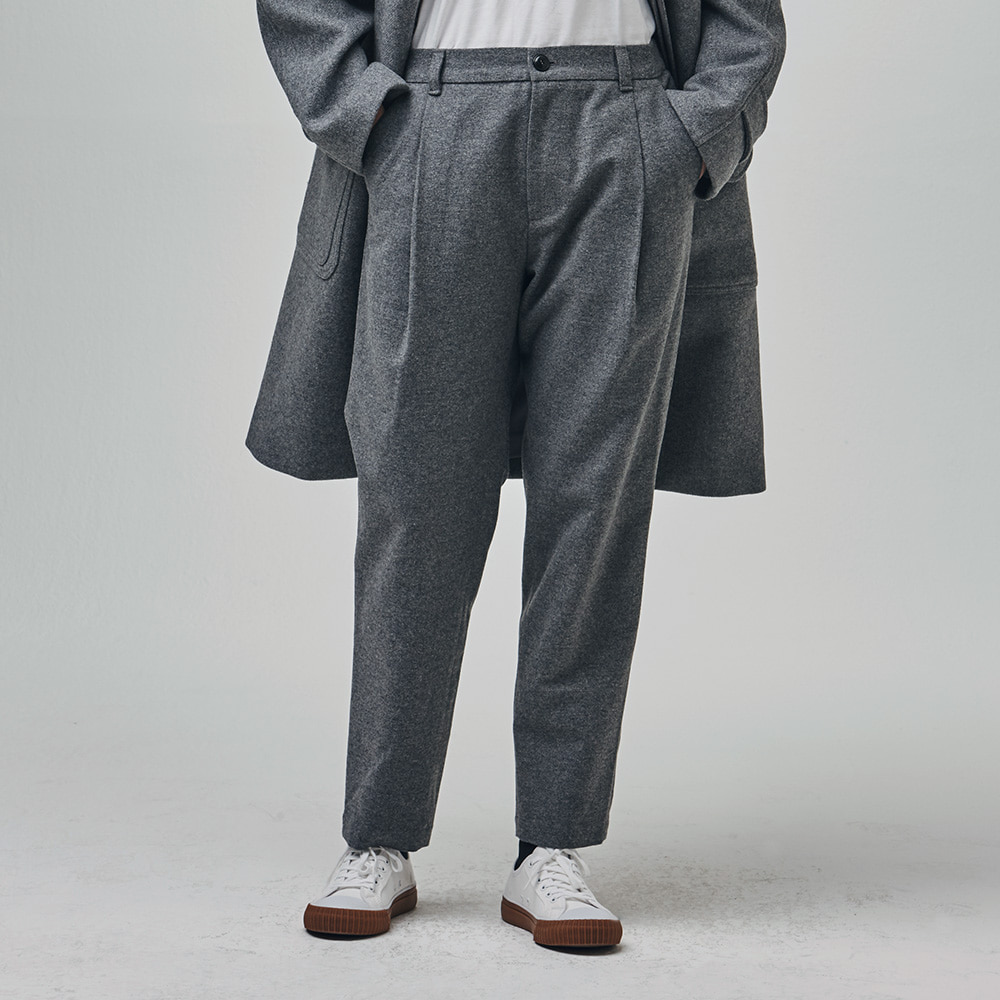 Invisible Relax Pants (Gray)ESFAI(에스파이)