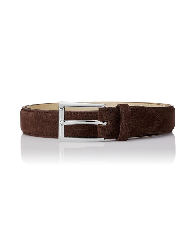 150 Classic Suede Belt - BrownSAVAGE(세비지)