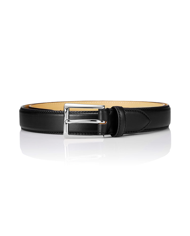 150 Classic Leather Belt - BlackSAVAGE(세비지)