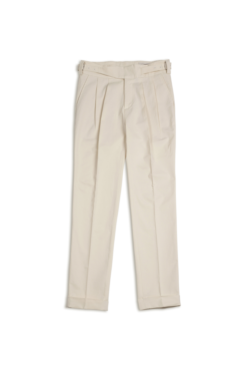 19 S/S ALL NEW GURKHA PANTS IVORYAmfeast(암피스트)