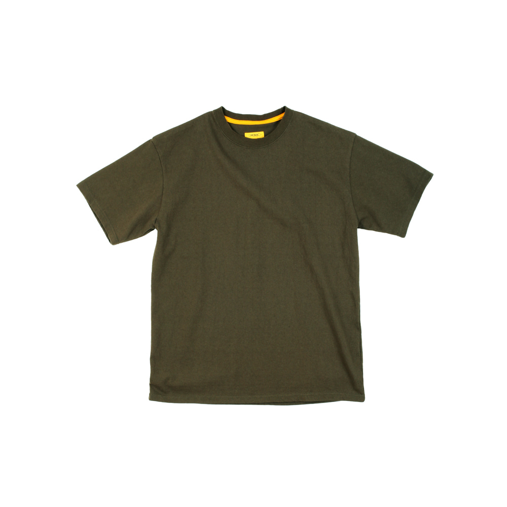 더레스큐(THERESQ)T SHAPE SHIRT [KHAKI]