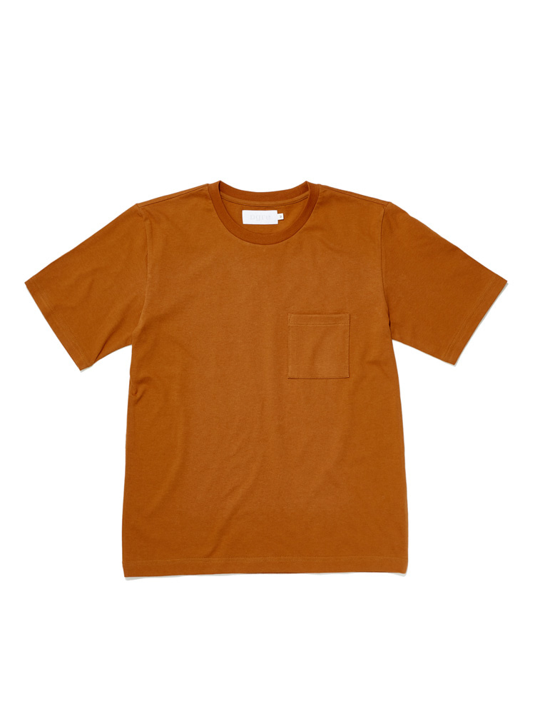 디그레(DGRE)POCKET SHORT SLEEVE BRICK