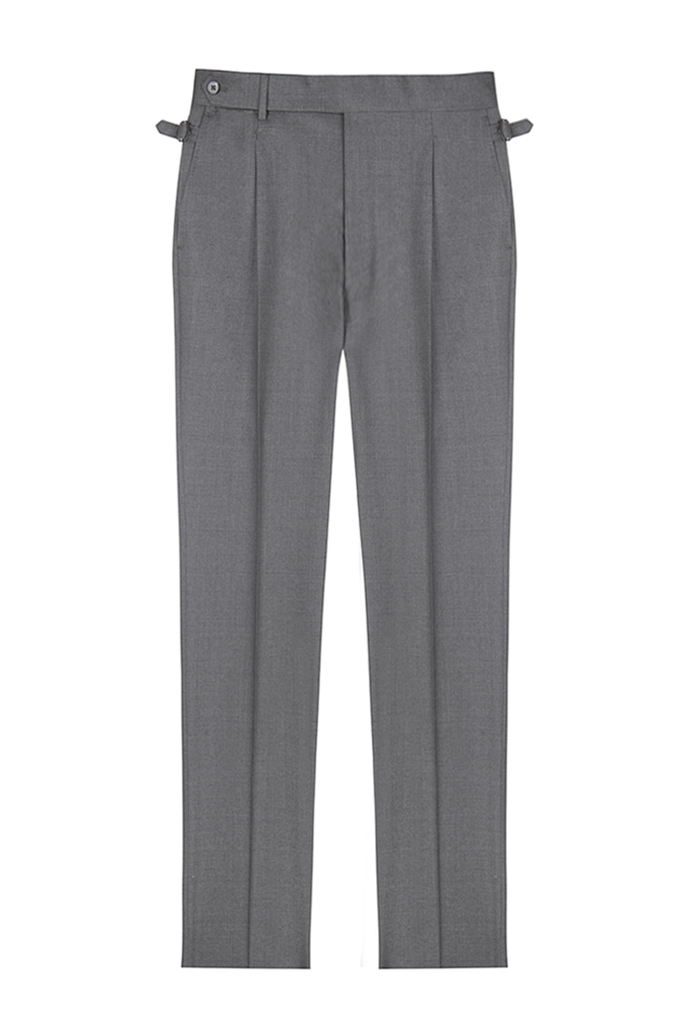 ATELIER DI PANTALONI( MADE IN JAPAN)CACNONICO PAPERENNIAL FOUR SEASON 110'S WOOL BELTLESS PANTSil fratello(일프라텔로)